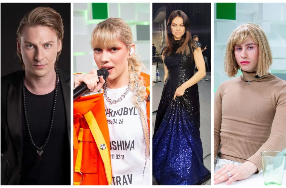 Justinas Lapatinskas, Monika Pundziūtė-Monique, Aistė Pilvelytė, Alen Chicco