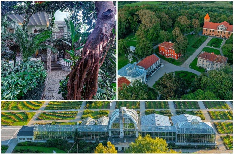 Gražiausios Lietuvos oranžerijos: išskirtiniai pastatai dvarų aplinkoje