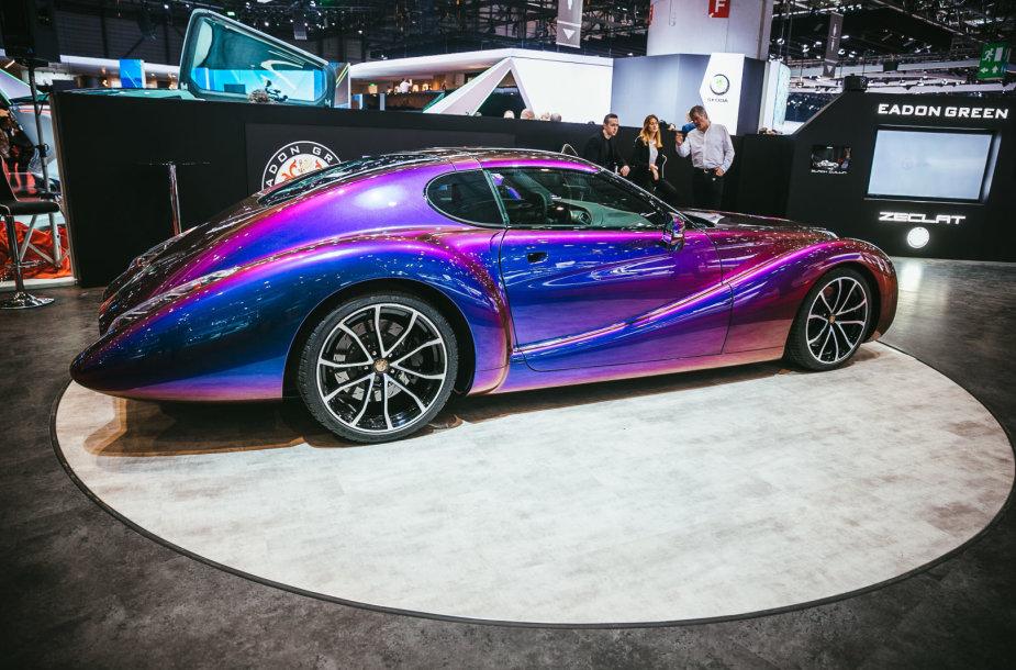 """Eadon Green"" stende Ženevoje – retro formos, po kuriomis – ""Corvette"""