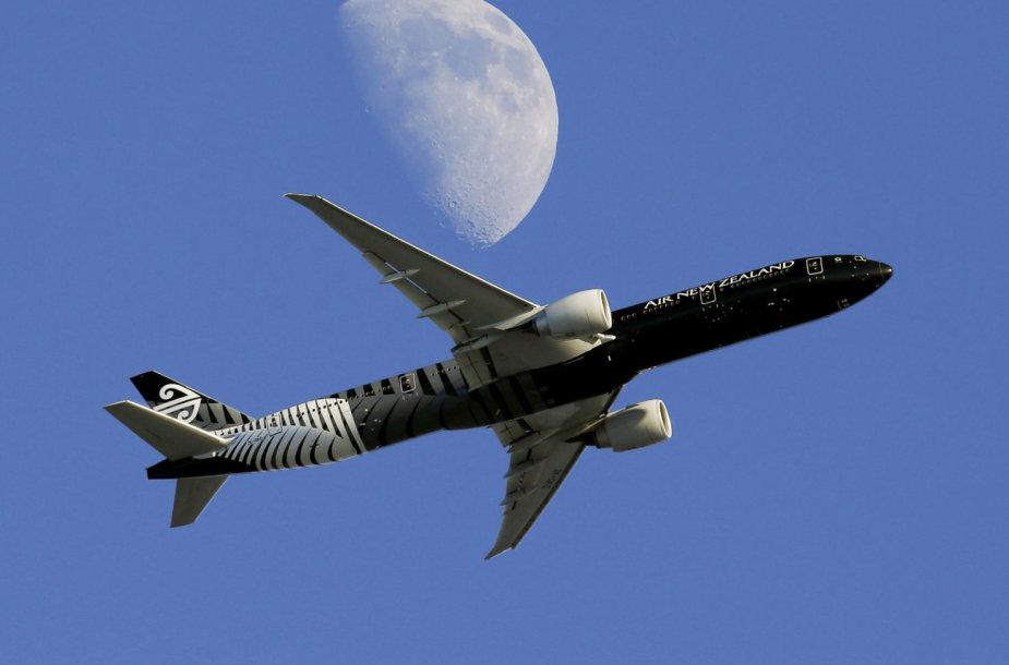 """Air New Zealand"" lėktuvas"
