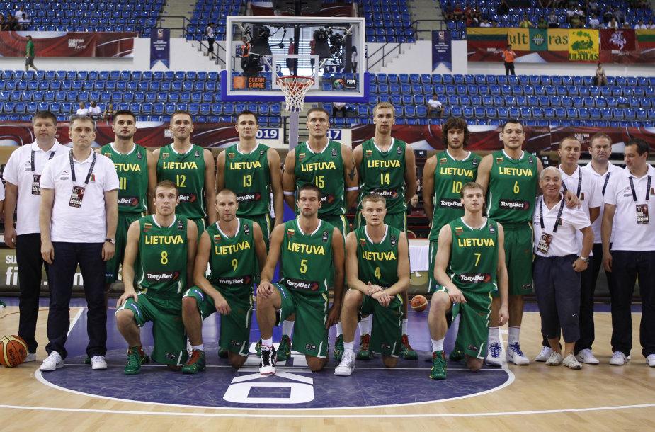 Lietuvos krepšinio rinktinė 2010 metais pasaulio čempionate iškovojo bronzą.