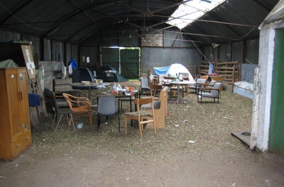 Tokiomis sąlygomis gyveno žemės ūkio įmonės darbuotojai Didžiojoje Britanijoje