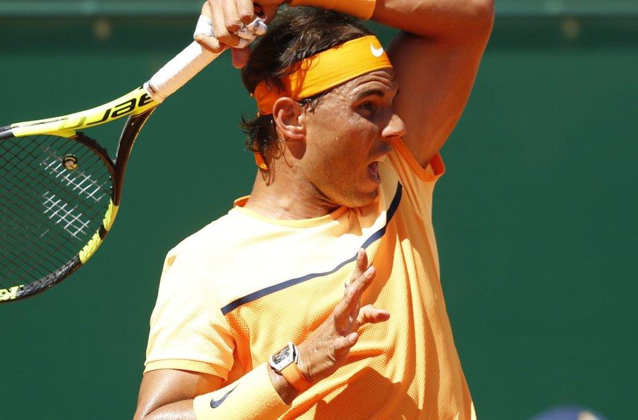 """Monte Karlo """"Masters"""": Rafaelis Nadalis – Dominicas Thiemas"""