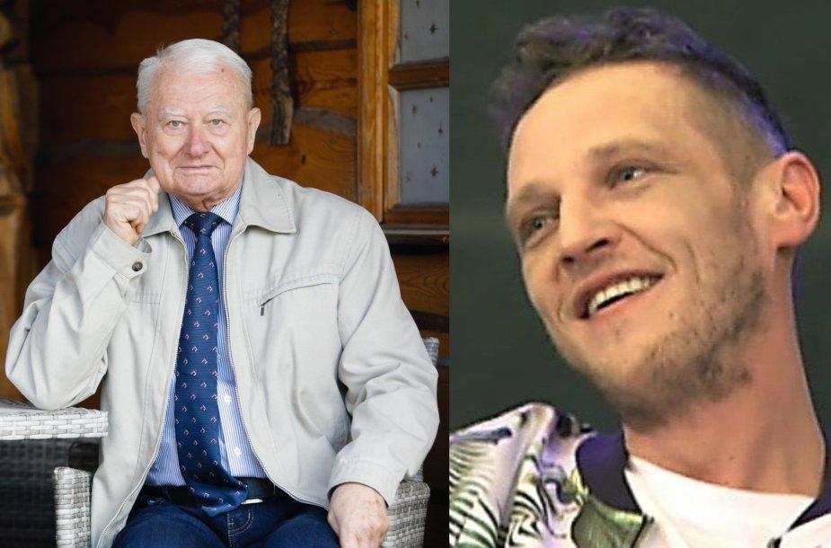 Alvydas Laiškonis ir Laimonas Žiulpa