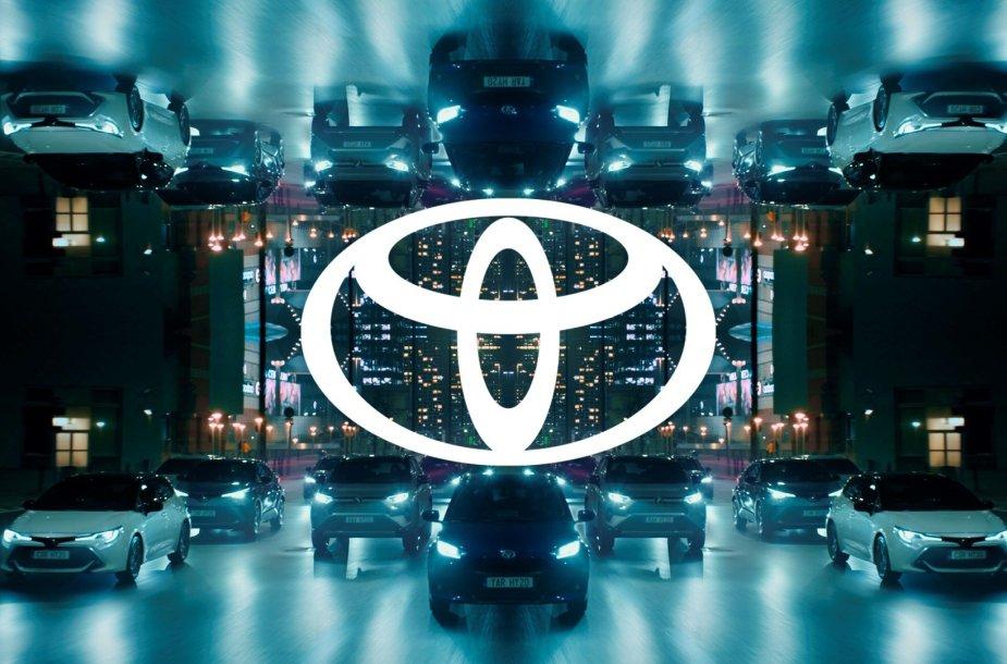 Naujasis Toyota prekinis ženklas