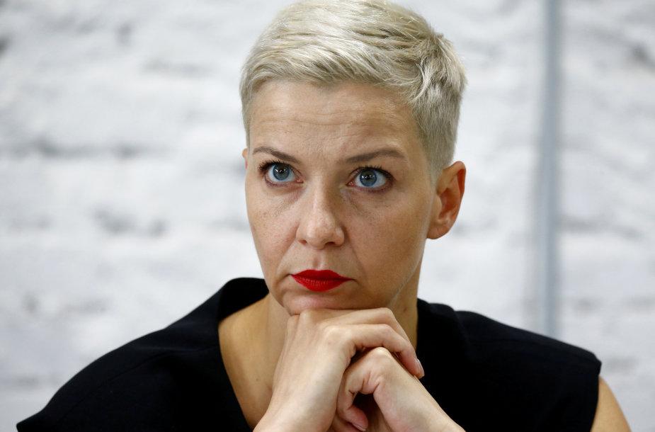 Maryja Kalesnikava