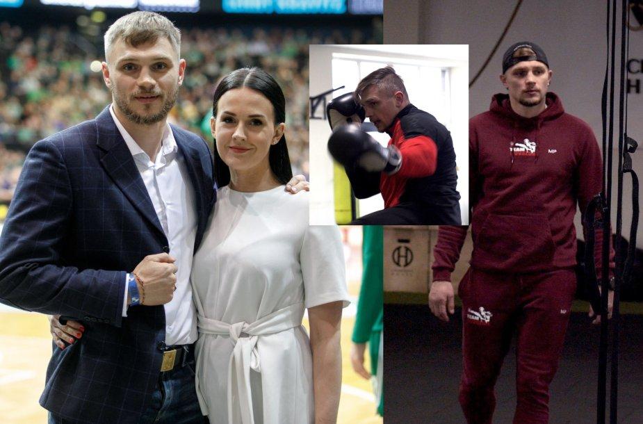 Sergejus Maslobojevas su žmona Airine