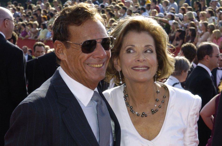 Ronas Leibmanas su žmona Jessica Walter