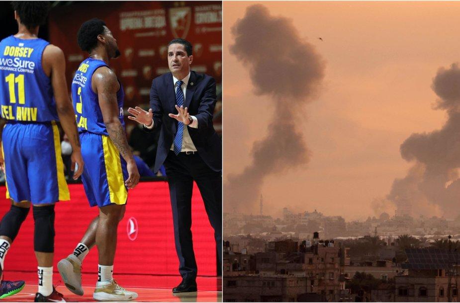 Izraelyje žaidžiantys krepšininkai nori palikti šalį