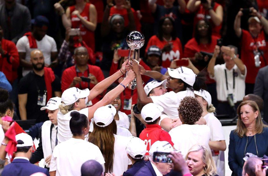 """Washington Mystics"" triumfavo WNBA"