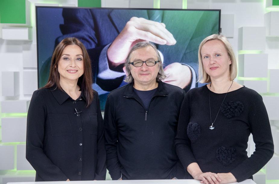 15min studijoje – Vilma Juraškienė , Arūnas Matelis, Giedrė Beinoriūtė