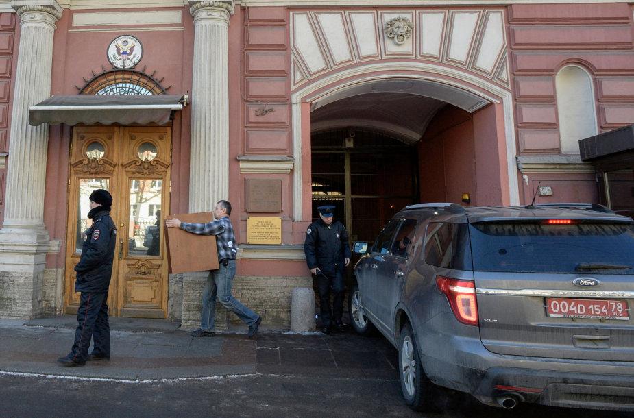 JAV konsulatas Sankt Peterburge