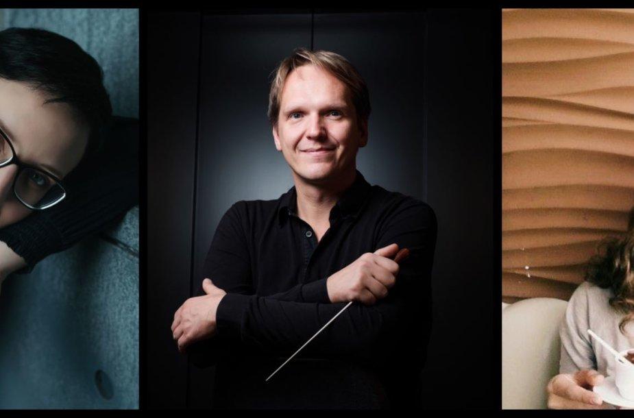 Kauno valstybinėje filharmonijoje koncertuos pianistė A.Mazurkevich ir A.Tonkikh, dirigentas – V.Kaliūnas.