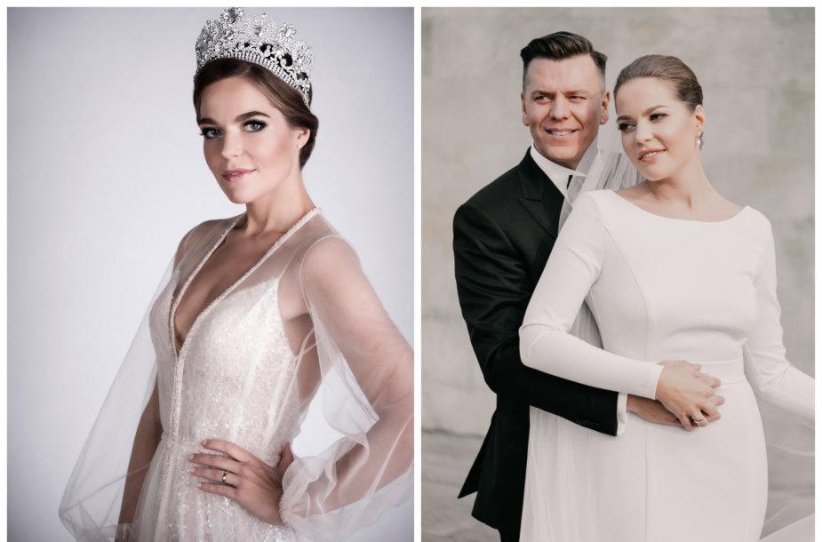 Gretė Smičiūtė-Brokienė ir Aleksandras Brokas