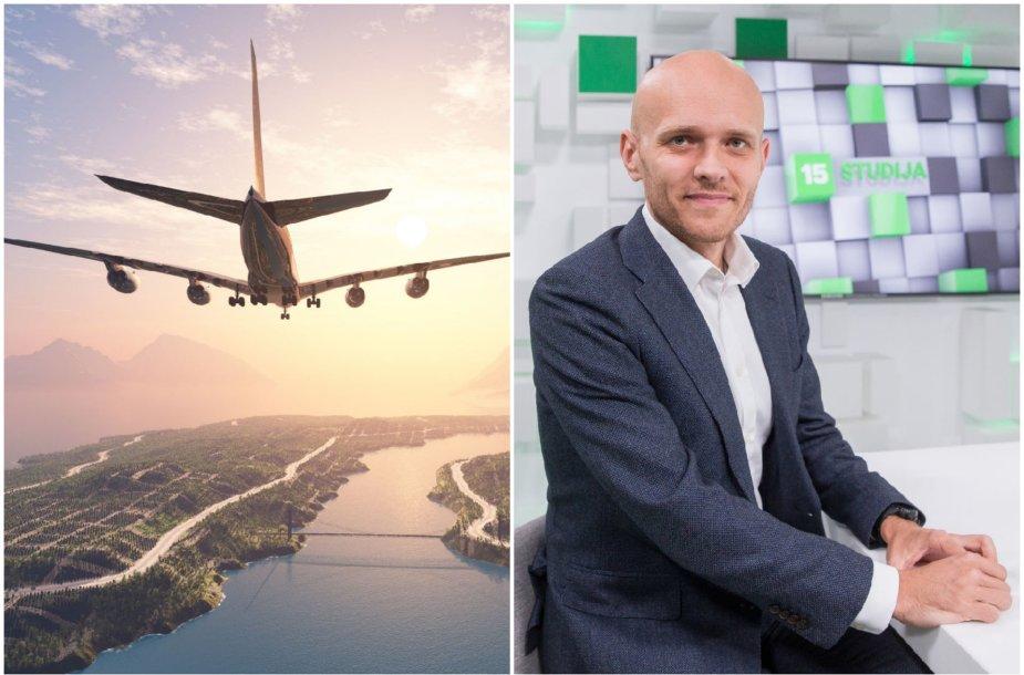 Aviacijos ekspertas Simonas Bartkus