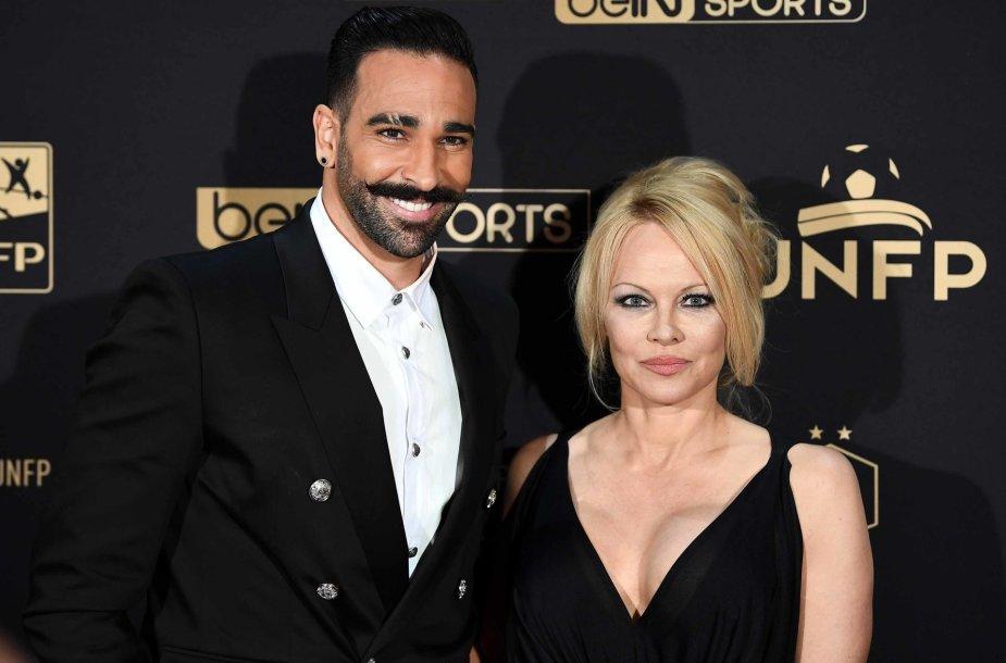 Adilas Rami ir Pamela Anderson