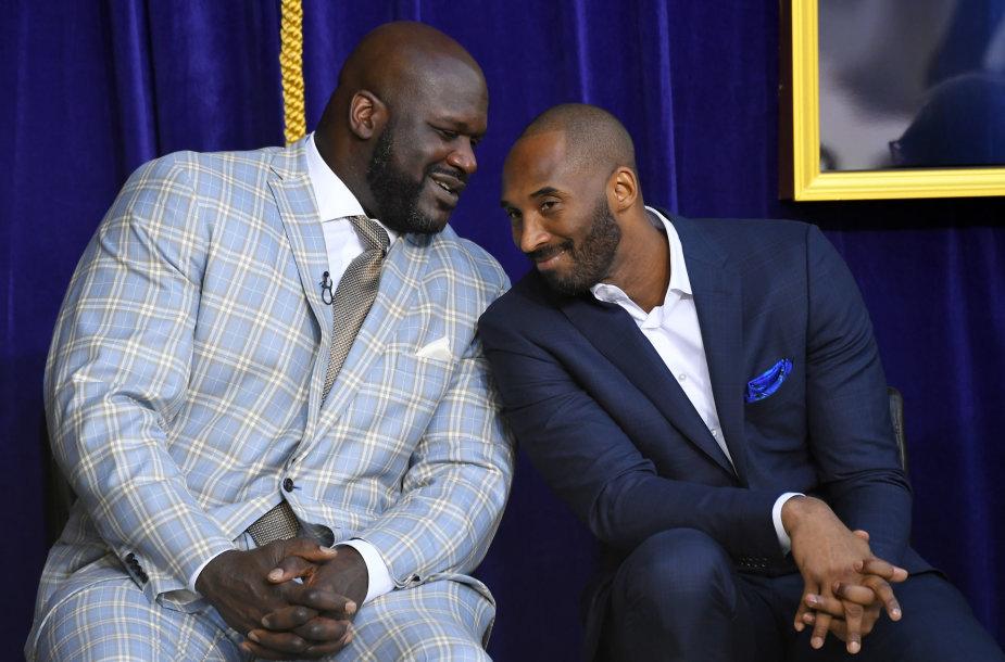 Shaquille'as O'Nealas ir Kobe Bryantas