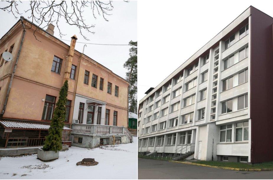 Buvusi Vilniaus infekcinė ligoninė ir buvęs studentų bendrabutis