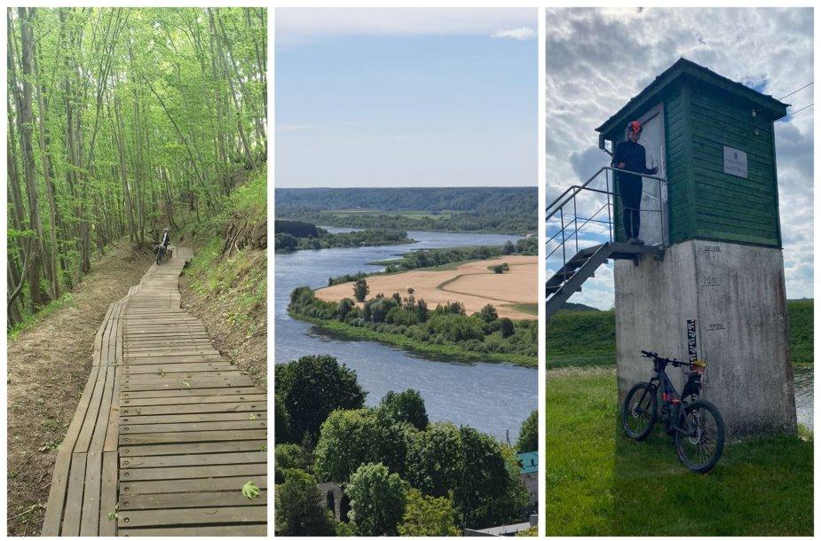 Į dviračių žygį bijojusi leistis panevėžietė liko apstulbusi: tokios egzotikos Lietuvoje dar nematė