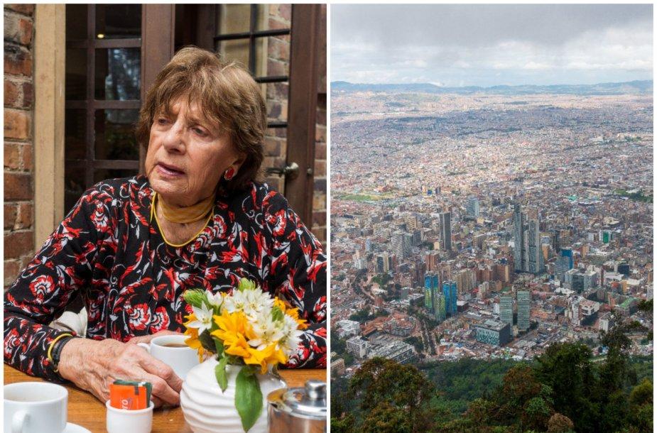 Kolumbijoje gyvenanti Laima Didžiulienė
