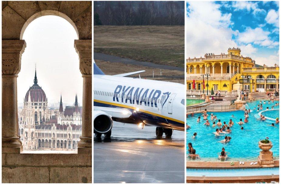 Iš Kauno bus galima pasiekti Vengrijos sostinę Budapeštą