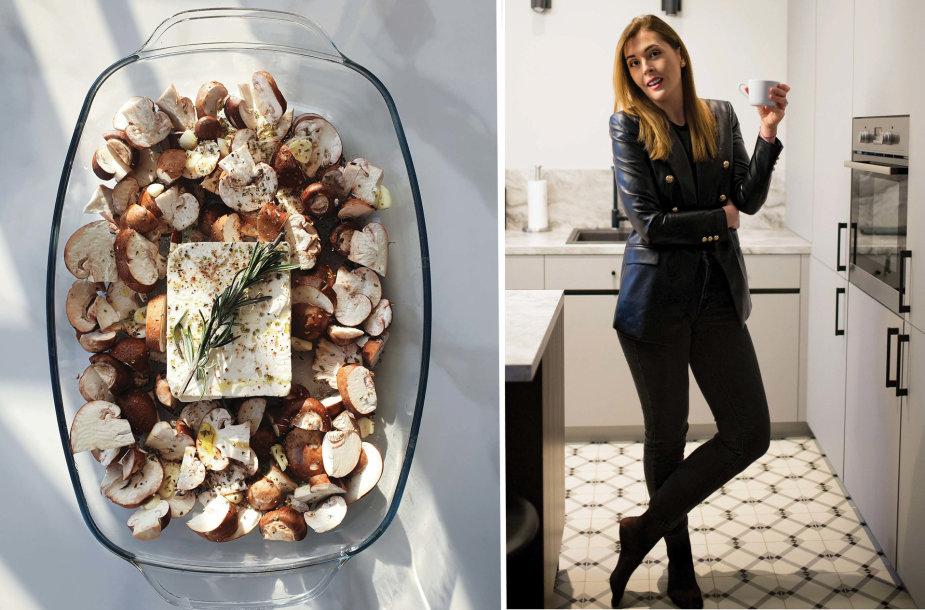Tinklaraštininkė ir jos ruoštas patiekalas