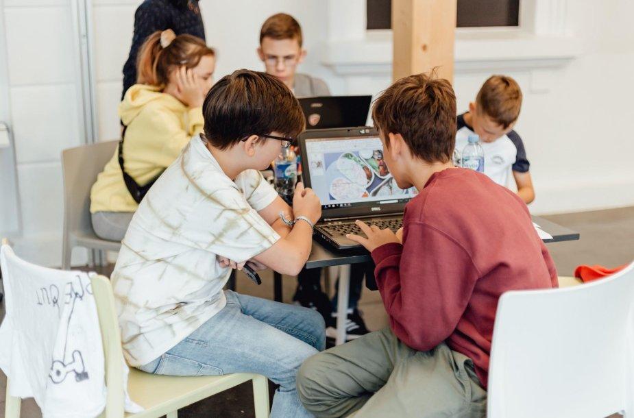 Pupils of CodeAcademy Kids