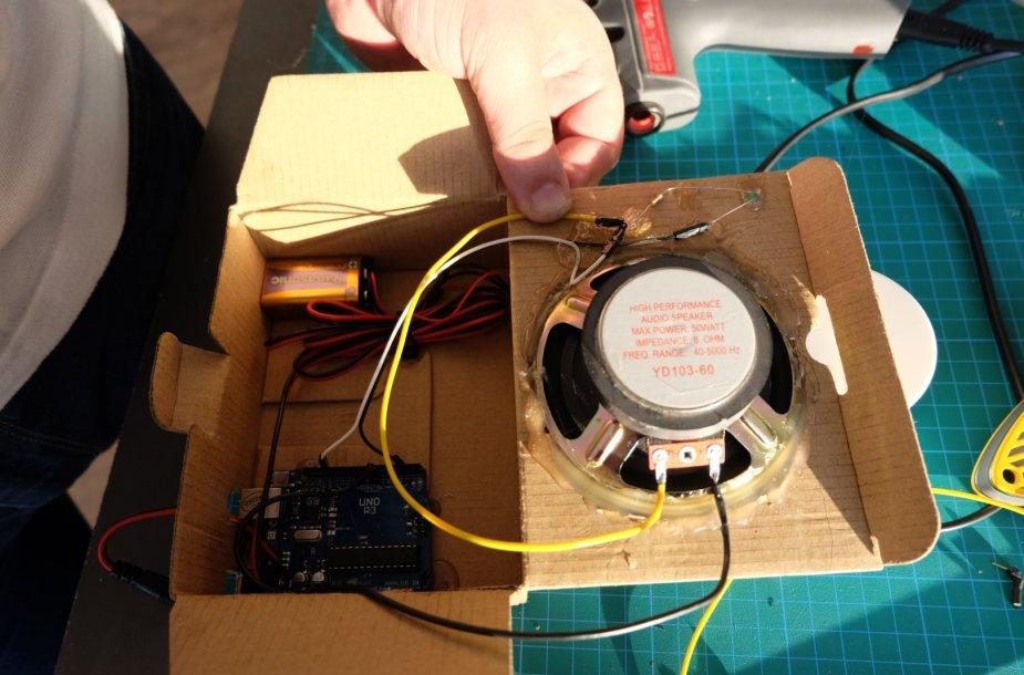 Belaidžio ryšio detektoriaus prototipo kūrimas