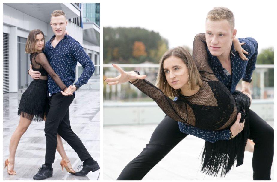 Ieva Riepšaitė ir Justinas Mejeris