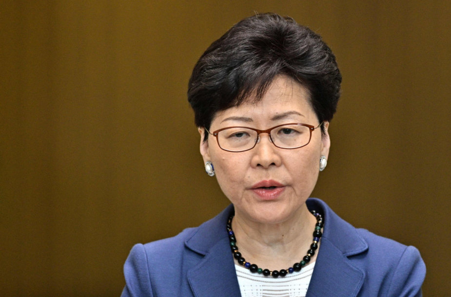 Honkongo lyderė Carrie Lam