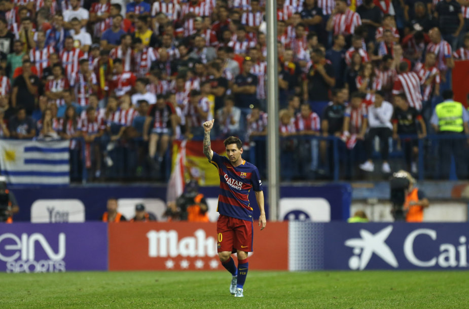 "Primera: Madrido ""Atletico"" – ""Barcelona"""