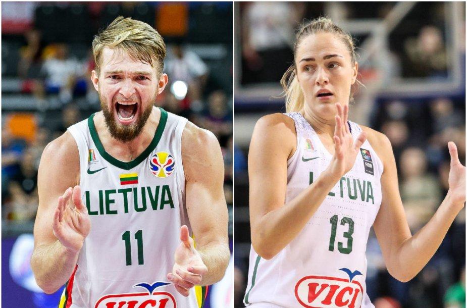 Domantas Sabonis ir Gintarė Petronytė