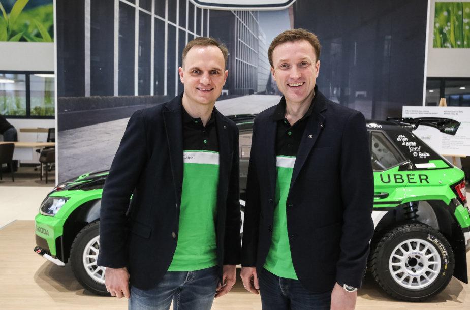 Martynas Samuitis ir Ramūnas Šaučikovas