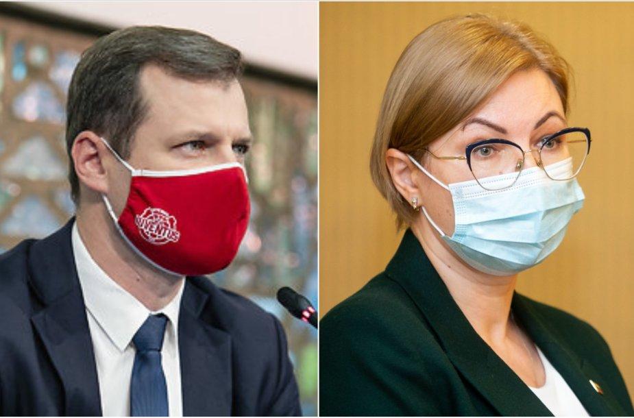 Gintautas Paluckas, Aušrinė Norkienė