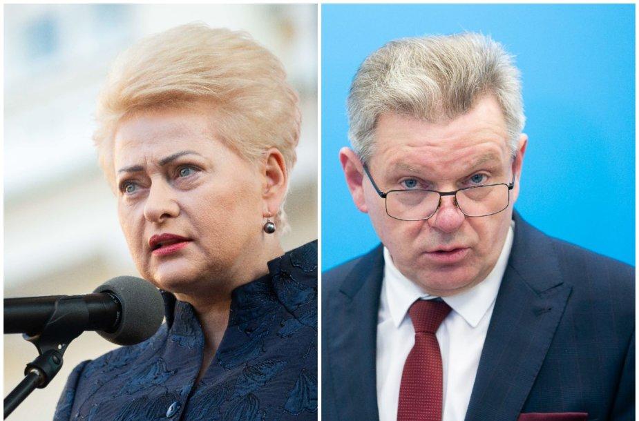 Dalia Grybauskaitė ir Jaroslavas Narkevičius