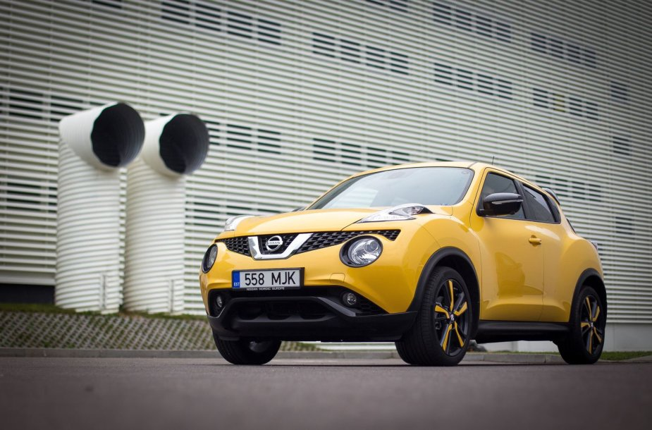 """Atnaujintas """"Nissan Juke"""""""