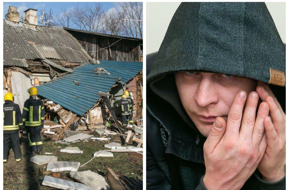 Susprogdintas namas ir Aleksandras Lebedevas