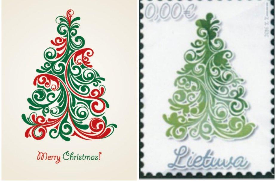 Pašto ženklo konkurso nugalėtojas ir paveiksliukas iš interneto
