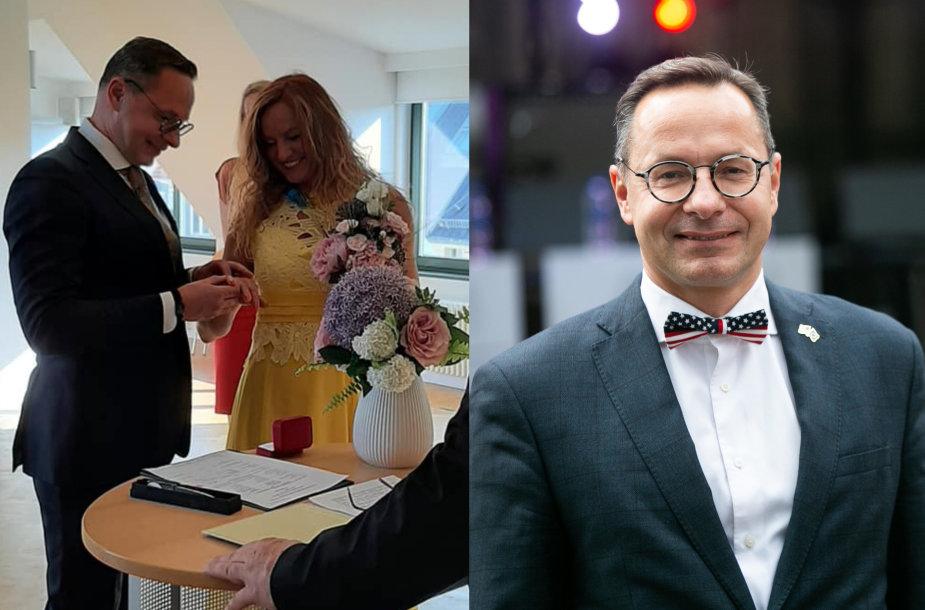 Žygimanto Pavilionio vestuvių akimirka