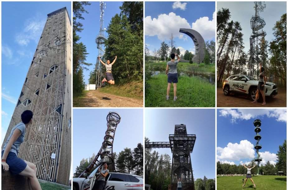 7 aukščiausi Lietuvos apžvalgos bokštai