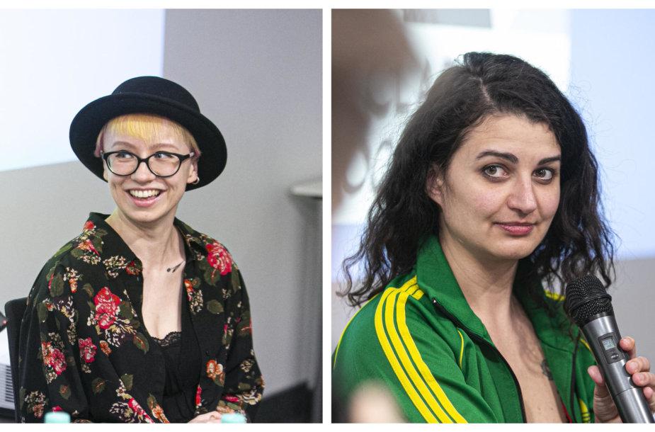 Elena Gasiulytė ir Miglė Anušauskaitė