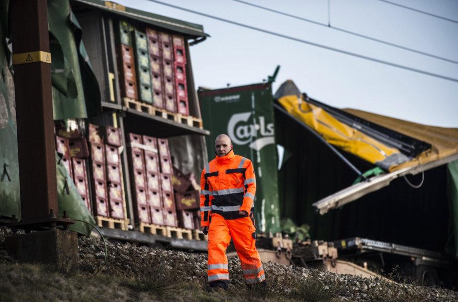 Traukinio avarija Danijoje