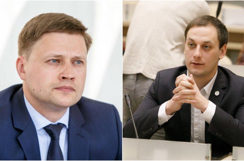 Arūnas Samochinas ir Mantas Jurgutis