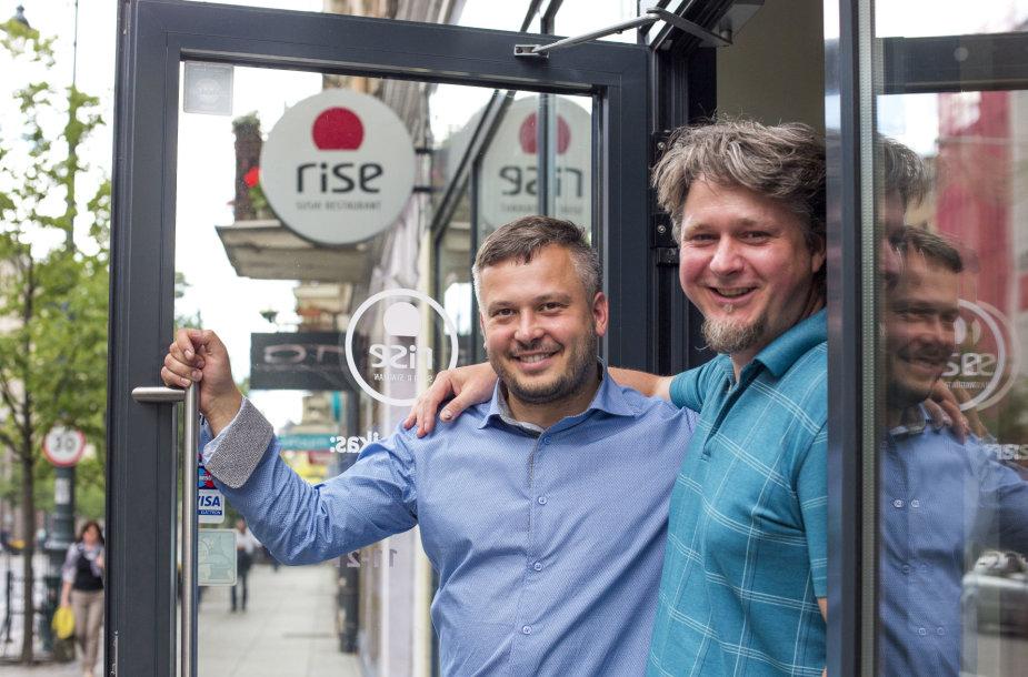 Arminas Darasevičius ir Egidijus Lapinskas