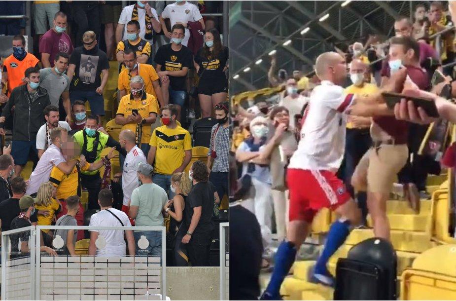 Konfliktas Dresdeno stadione