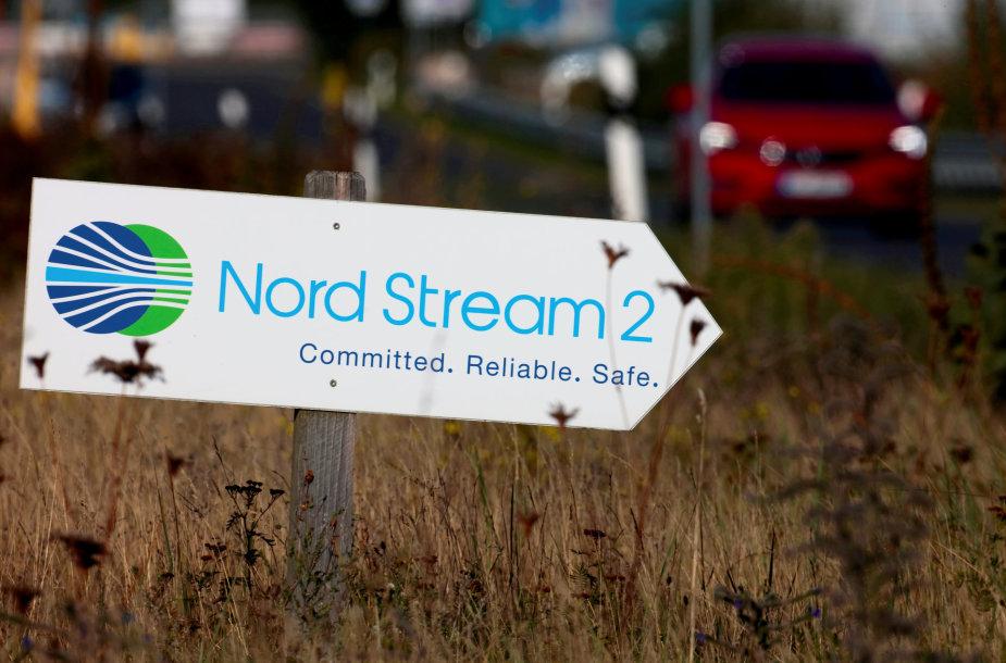 """""""Nord Stream 2""""  dujotiekis"""