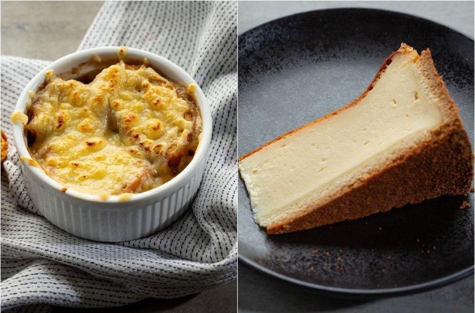 Klasikinių prancūziškų patiekalų duetas