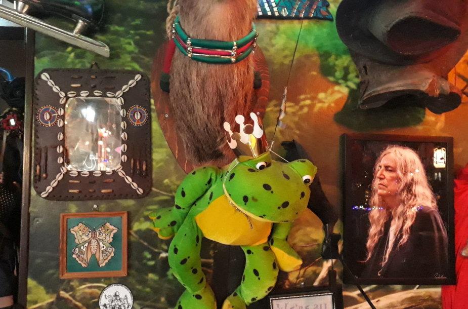 """""""Bar Barista"""": Patti Smith, Kermitas ir kitos ikonos"""