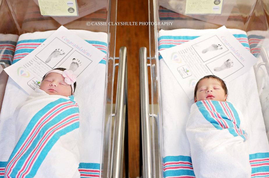 Pietų Karolinoje gimė Romeo ir Džiuljeta