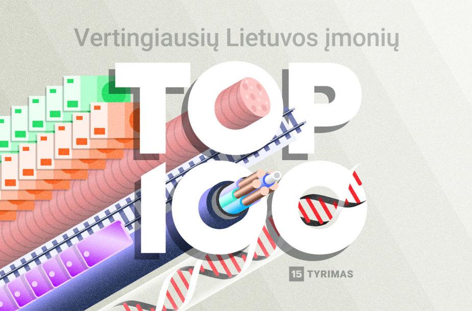 Top 100 vertingiausių Lietuvos įmonių